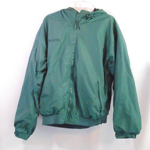 Vintage Columbia men's fleece lined jacket full zip XL
